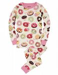 Hatley      PJASWET212 Sweet Donuts PJ set  Available Sizes  2/3/4/5/6/7/8/10 Years   Spring/Summer